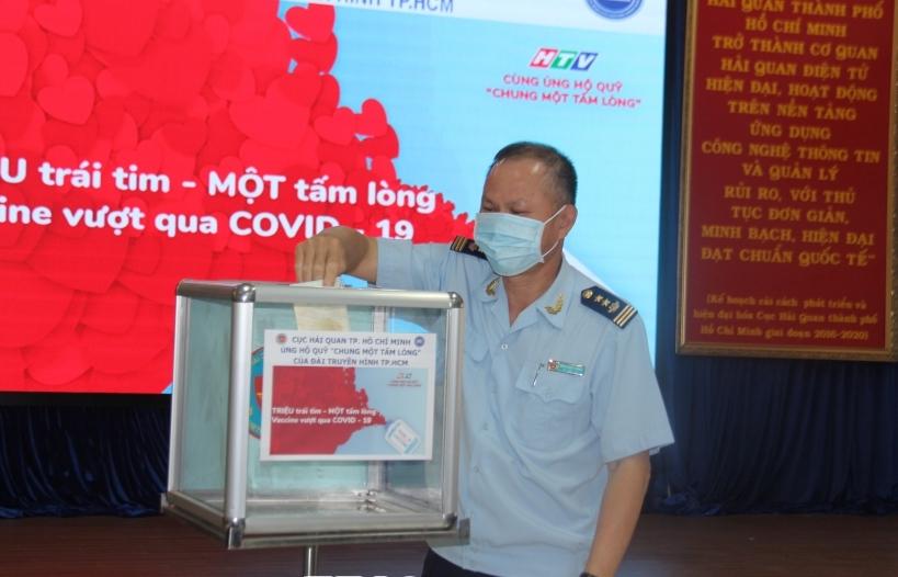 Cục Hải quan TPHCM: Phát động ủng hộ mua vaccine phòng chống Covid-19