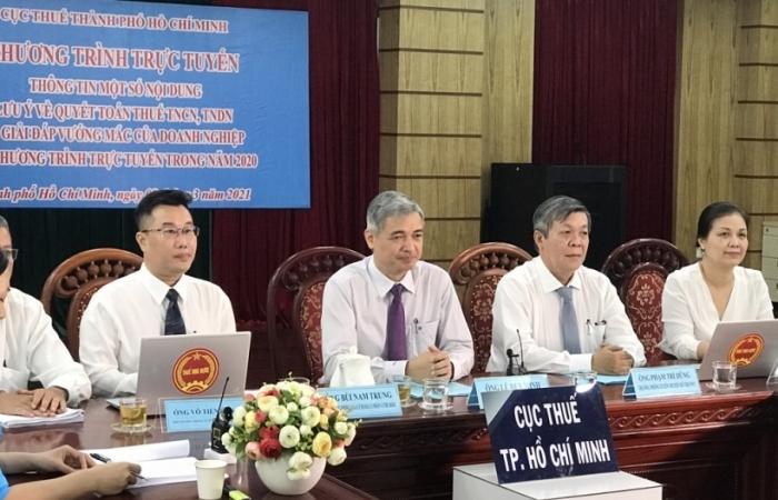 Cục Thuế TPHCM đối thoại, hướng dẫn  trực tuyến quyết toán thuế