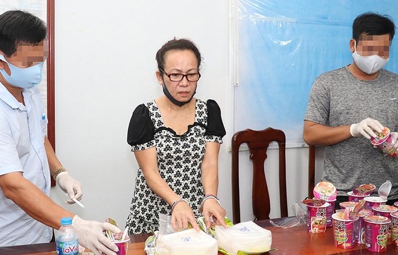 Vận chuyển ma túy, một phụ nữ Campuchia lĩnh án tù chung thân