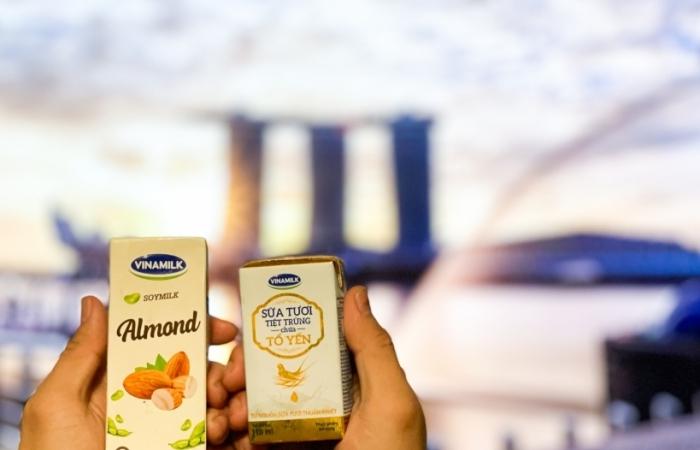 Xuất khẩu dòng sữa cao cấp sang Singapore