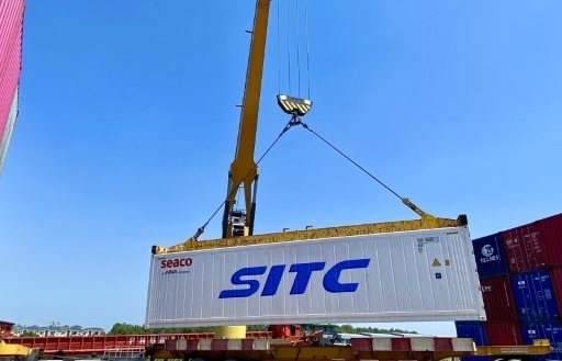 Tân cảng và hãng tàu khai trương dịch vụ khai thác container lạnh đầu tiên