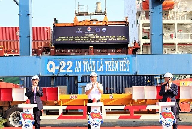 Chuyến tàu kết nối hàng XNK Trung Quốc- Nhật Bản- Việt Nam