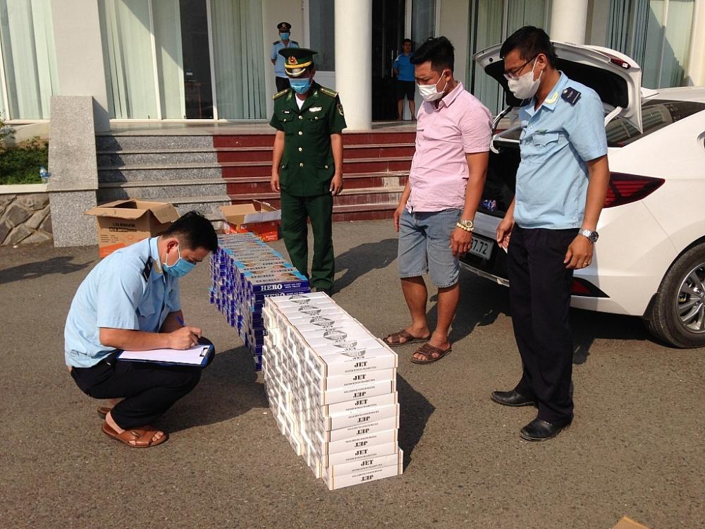 Hải quan Đồng Tháp: Bắt giữ liên tiếp nhiều vụ buôn lậu thuốc lá