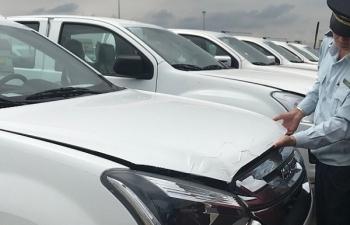 Gần 16.000 ô tô con đã được thông quan tại cảng SPCT