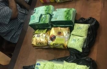 Bắt giữ thêm hàng ngàn viên thuốc lắc trong đường dây ma túy từ Campuchia về Việt Nam
