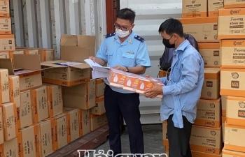 Thông quan trên 800 lô hàng xuất khẩu qua cảng Cát Lái trong ngày Giỗ Tổ