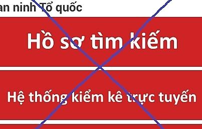 canh bao mao danh cong an danh cap thong tin tai khoan ca nhan