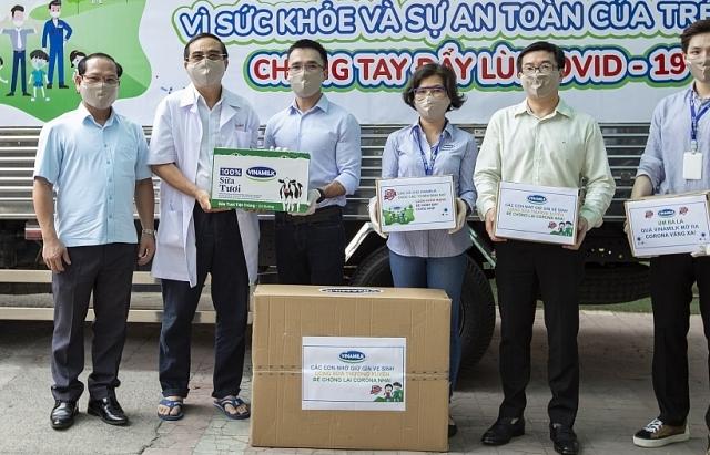 """""""Món quà"""" đặc biệt Vinamilk gửi tặng trẻ em khó khăn cả nước trong dịch bệnh"""
