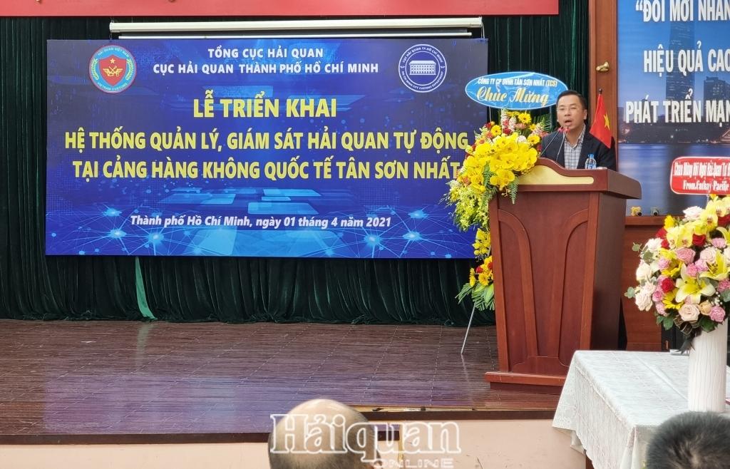 Chính thức triển khai giám sát hải quan tự động tại kho hàng không sân bay quốc tế Tân Sơn Nhất