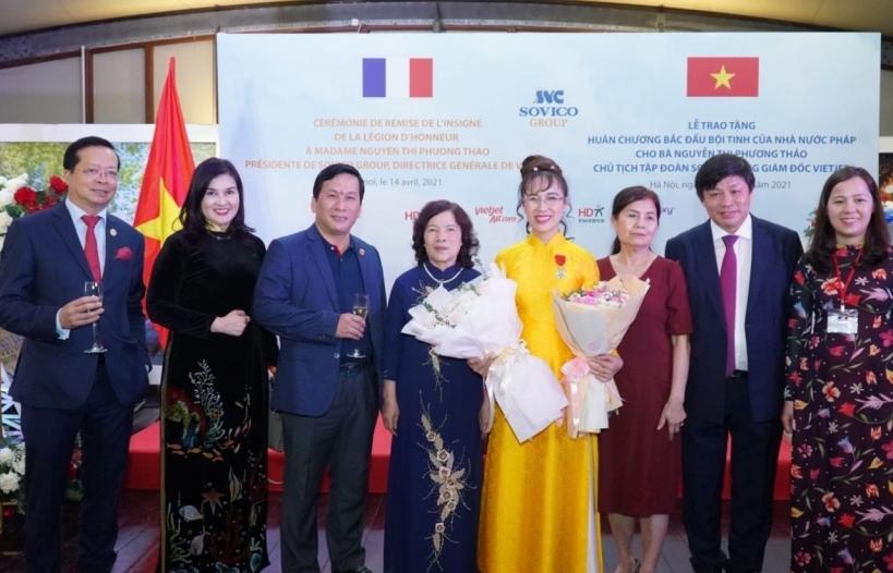Nữ doanh nhân Việt đầu tiên nhận Huân chương Bắc đẩu bội tinh