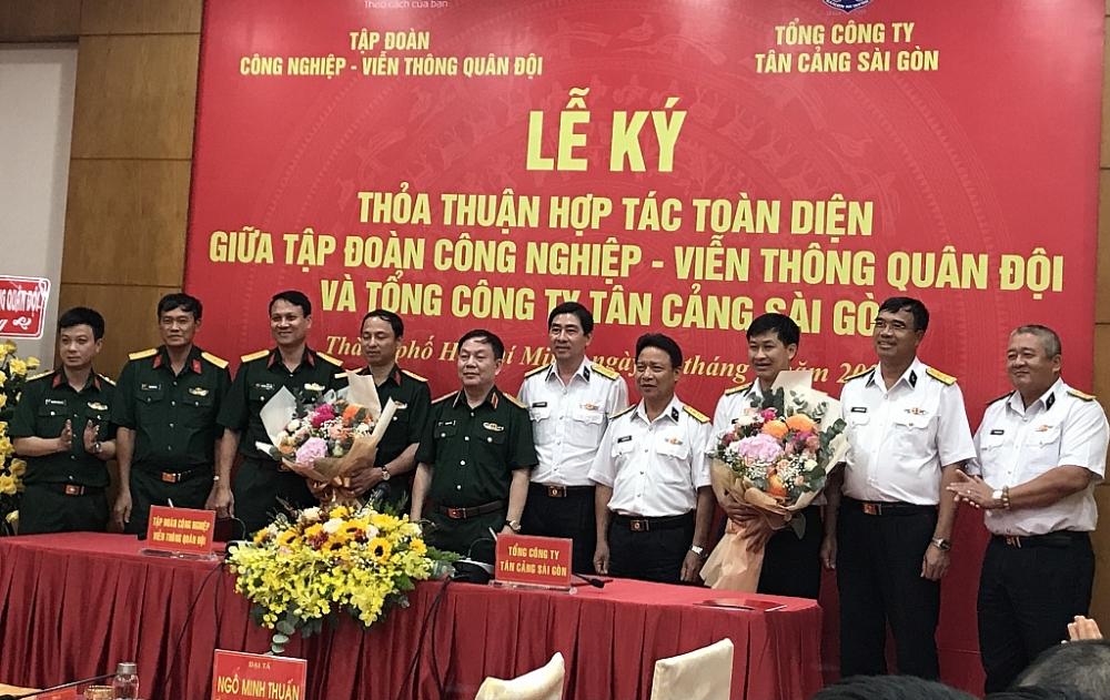 Hai doanh nghiệp hàng đầu của Quân đội hợp tác phát triển dịch vụ logistics và CNTT