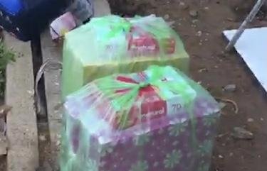 Gói quà chứa cả nghìn bao thuốc lá lậu