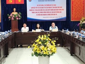 Lãnh đạo Bộ Tài chính giải quyết nhiều vấn đề nghiệp vụ