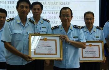 Đảng bộ Cục Hải quan TPHCM: Khen thưởng nhiều tập thể, cá nhân