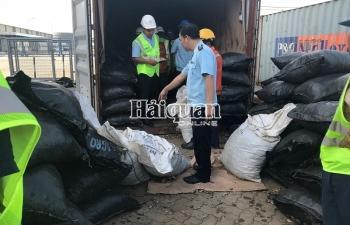 Những hình ảnh bắt giữ gần 5,3 tấn vảy tê tê trong lô hàng hạt điều