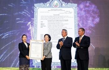 """Vinamilk khởi công xây dựng Tổ hợp """"Resort"""" bò sữa Organic 5.000 ha tại Lào"""