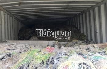 Hình ảnh hơn 1.000 container
