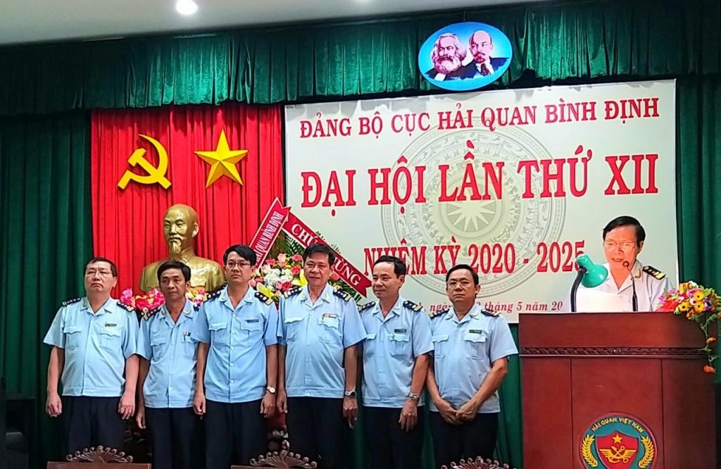 Đảng bộ Cục Hải quan Bình Định đề ra nhiều mục tiêu đột phá trong nhiệm kỳ mới