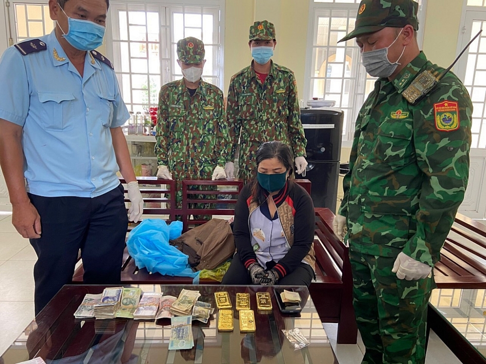 Kết quả giám định 5 miếng kim loại bắt giữ tại biên giới là vàng  9999