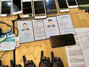TPHCM: Bắt 20 đối tượng người Trung Quốc giả danh Công an lừa đảo