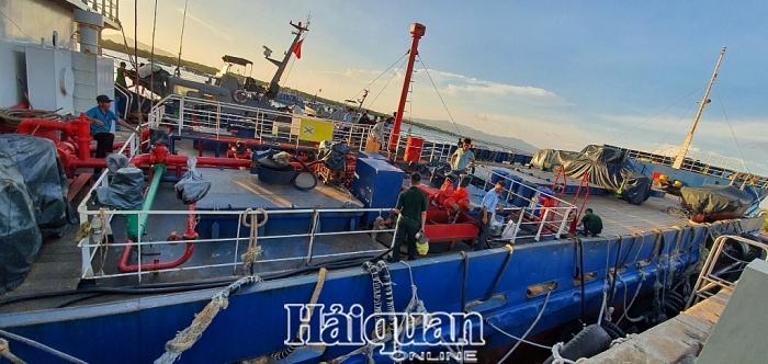 Liên tiếp bắt giữ tàu chở dầu lậu trên vùng biển Vũng Tàu