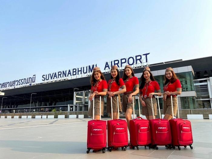 Vietjet Thái Lan mở rộng mạng bay khắp xứ sở chùa Vàng