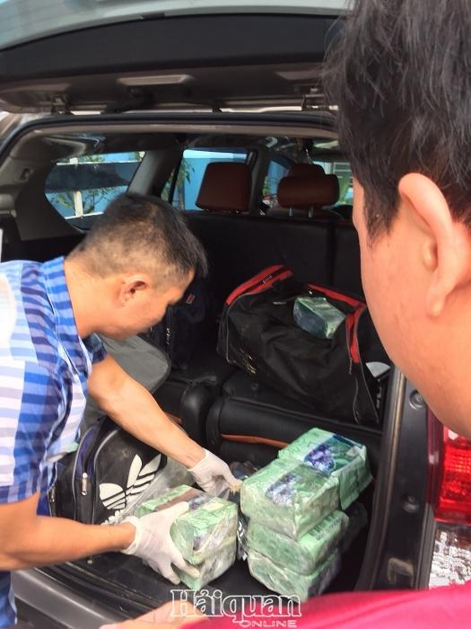 Hải quan tham gia phá chuyên án ma túy từ Campuchia về Việt Nam