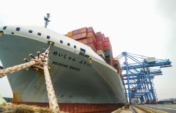 Kỷ lục xếp dỡ mới tại cảng nước sâu hàng đầu Việt Nam