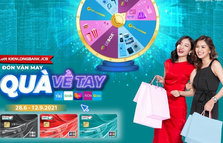 Nhiều tiện ích mua sắm và thanh toán qua thẻ tín dụng quốc tế Kienlongbank JCB