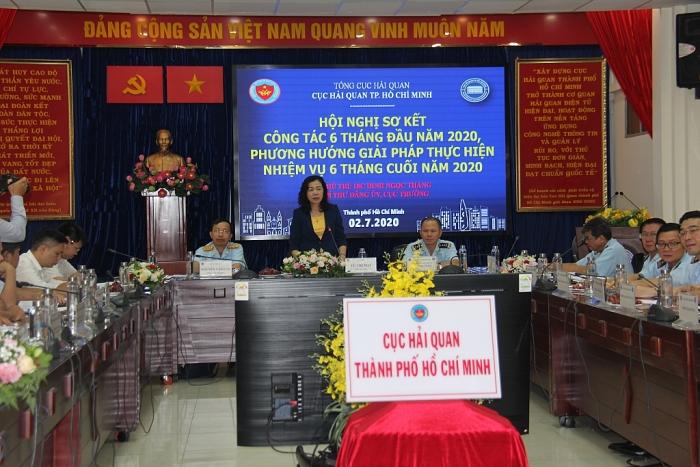 Hải quan TPHCM:Nỗ lực hoàn thành nhiệm vụ thu ngân sách 115.000 tỷ đồng