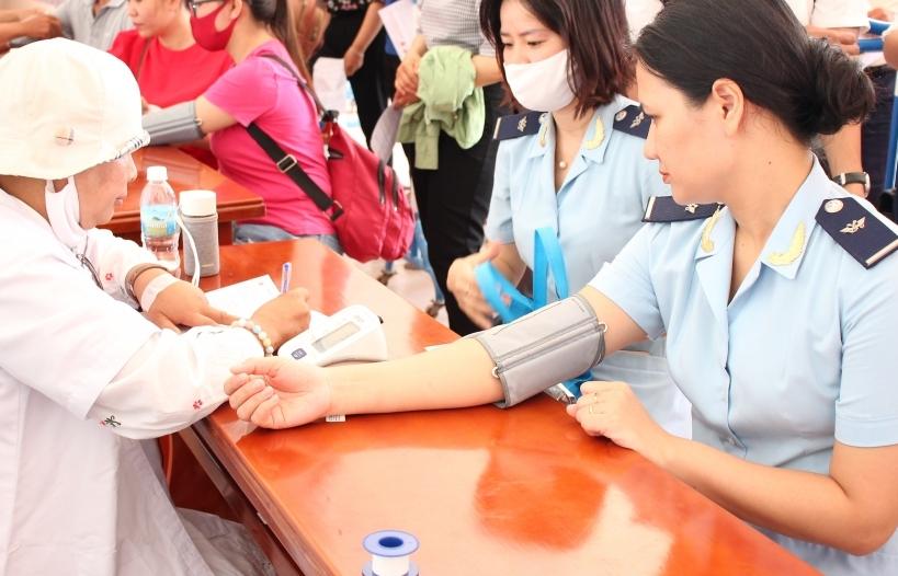 Hải quan Khánh Hoà tham gia ngày hội hiến máu