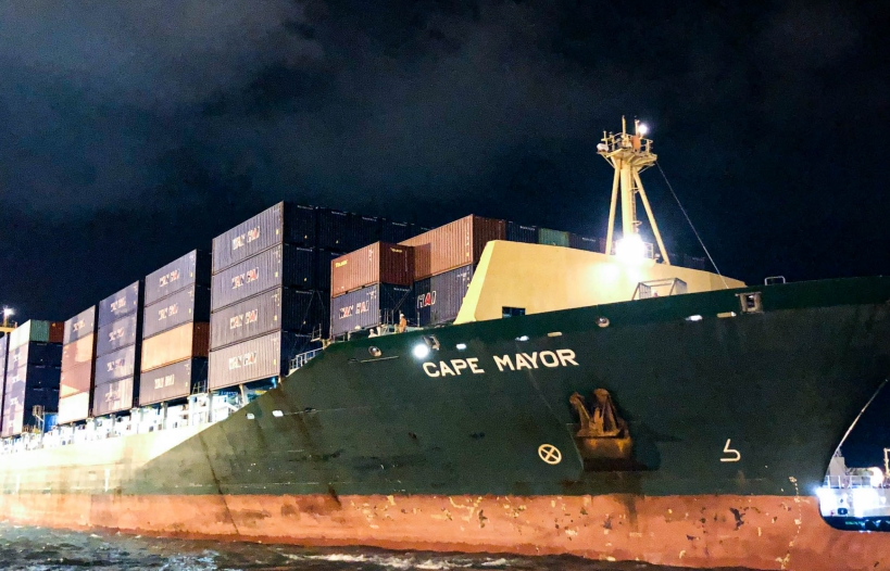 Thêm tuyến tàu dịch vụ chở hàng xuất khẩu đi Mỹ