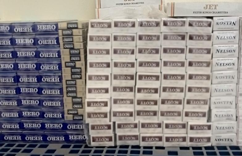Hải quan cửa khẩu Thường Phước phối hợp bắt trên 1.700 bao thuốc lá lậu