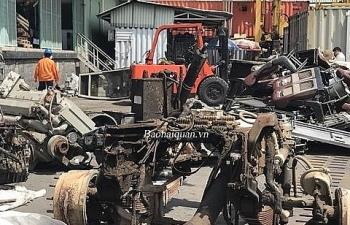 Khởi tố, điều tra doanh nghiệp nhập lậu cả container phụ tùng ô tô