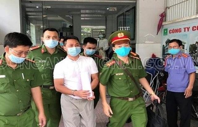 Bắt Tổng giám đốc Công ty CP Bất động sản nhà đất Đồng Nai