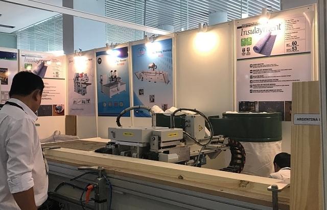 Hơn 1.000 máy móc thiết bị chế biến gỗ được giới thiệu tại Vietnam Wood 2019