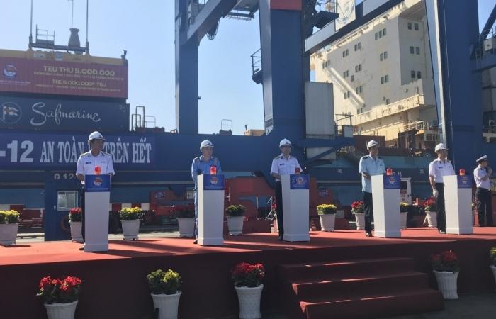 Tổng công ty Tân cảng Sài Gòn đã khắc phục xong tất cả các kiến nghị của Thanh tra Bộ Tài chính