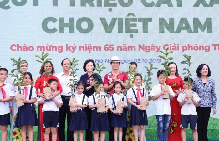 Quỹ 1 triệu cây xanh cho Việt Nam: Lan toả tình yêu thiên nhiên, môi trường tới học sinh