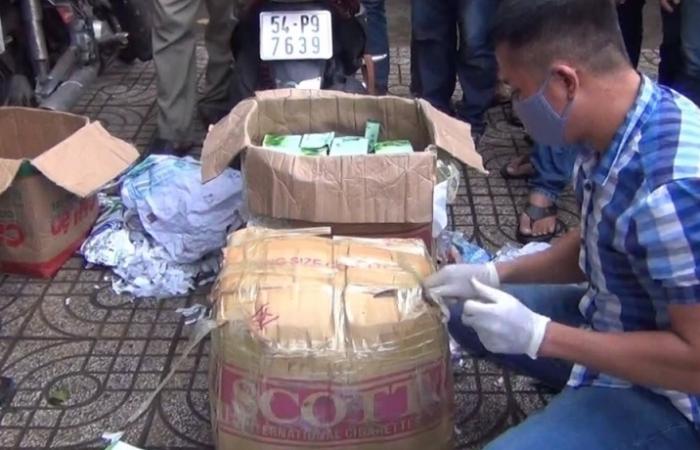 Gần 50 kg ma tuý nguỵ trang trong các giỏ trái cây bị bắt giữ