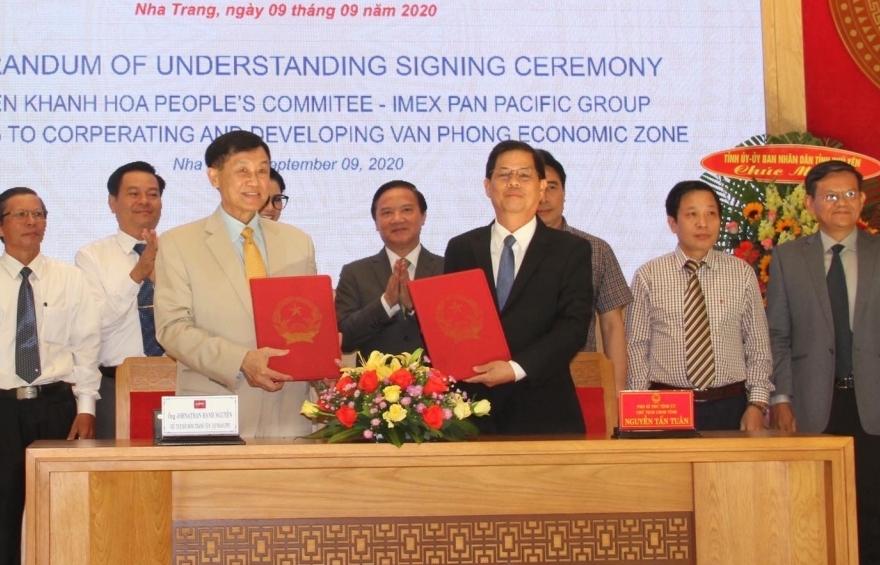 Tập đoàn Liên Thái Bình Dương tài trợ 5 triệu USD cho dự án vịnh Vân Phong