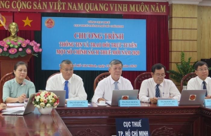 Cục Thuế TPHCM: Đối thoại, giải đáp hơn 300 câu hỏi về chính sách thuế