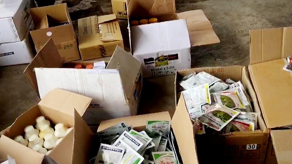Tổ Liên ngành chống buôn lậu tạm giữ hơn 3.000 sản phẩm vi phạm