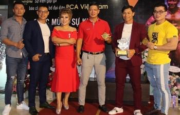 VĐV Phạm Hy được ủy nhiệm tổ chức giải đấu thể hình PCA tại Việt Nam