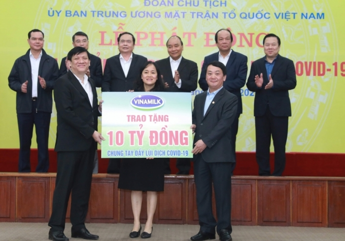 Vinamilk dẫn đầu Top 10 thương hiệu mạnh nhất của Việt Nam