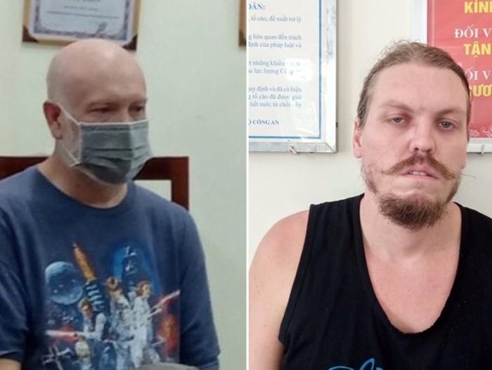 Cảnh sát Việt Nam bắt hai đối tượng người Mỹ phạm tội đặc biệt nguy hiểm