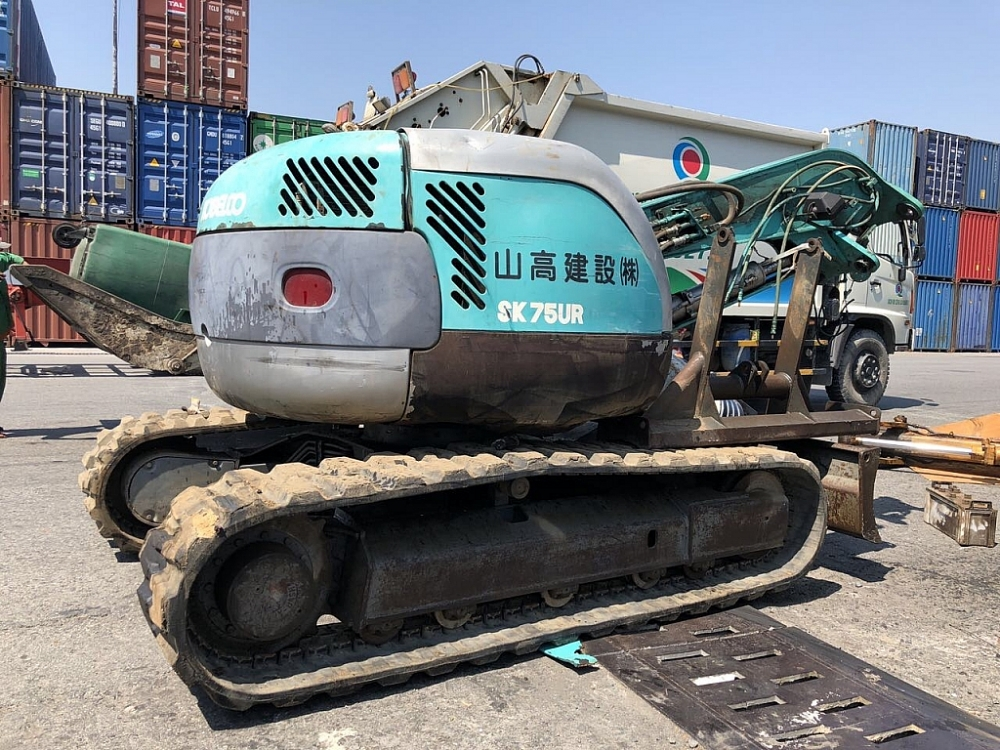 Quyết định tịch thu nhiều lô hàng máy móc cấm nhập khẩu do Cục Hải quan TPHCM phát hiện