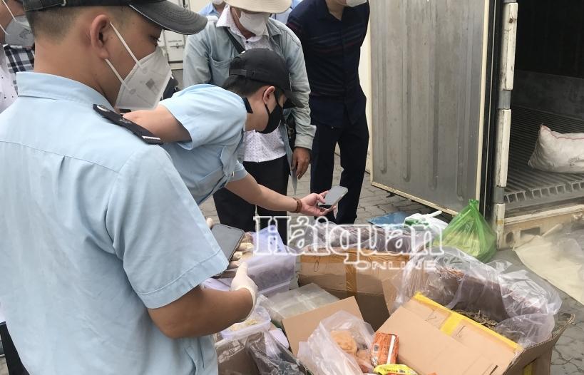 Thông tin về doanh nghiệp nhập lậu hàng trăm thùng cá ngựa, tổ yến vụn... trong container sò huyết