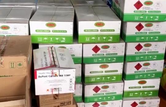 Phát hiện kho chứa hàng lậu trên tuyến biên giới An Giang