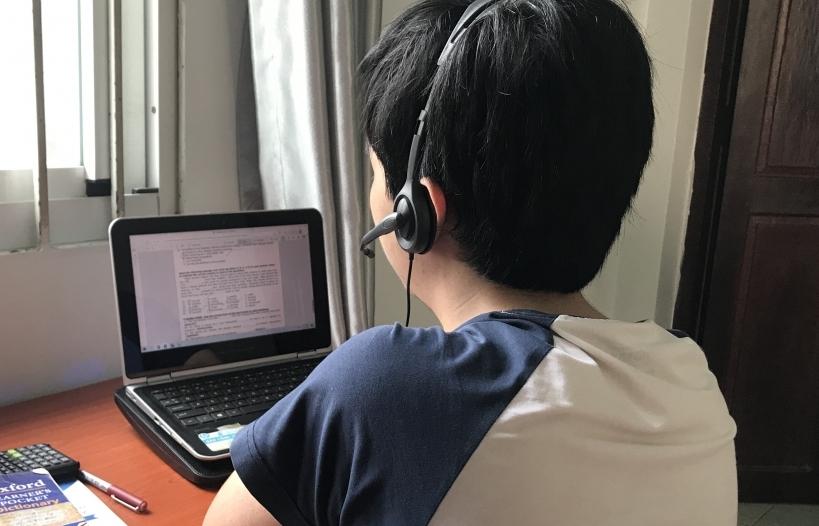 Công an cảnh báo đối tượng xấu chiếm quyền chủ trì lớp học online