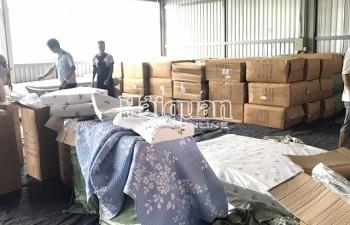 Doanh nghiệp nhập khẩu hơn 7 tấn hàng giả mạo xuất xứ mới thành lập
